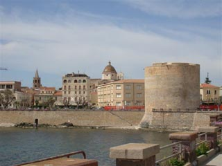 Alghero from the Promenade